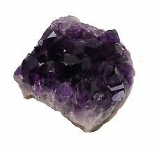 Small Amethyst Crystal Cluster Druzy Group Mineral Specimen Natural Stone