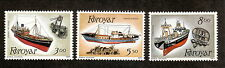 Faroe Islands--#158-60 MNH--Fishing Trawlers--1987