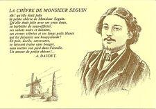 CARTE POSTALE PERSONNALITE ECRIVAIN A.DAUDET LA CHEVRE DE MONSIEUR SEGUIN