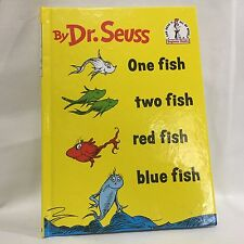 Beginner Books(R): One Fish Two Fish Red Fish Blue Fish Dr. Seuss HC Free Ship