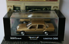 OPEL ASCONA SEDAN C 1.6 S GOLD 1981 NEO 44901 1/43 RESINE RESIN LIMITED EDITION