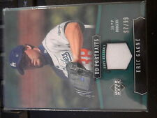 2005 UD Portraits #48 Eric Gagne Game-Used Jersey #d 67/99