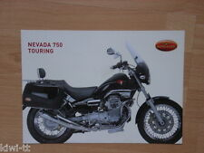 MOTO GUZZI NEVADA 750 Touring prospetto/brochure/DEPLIANT, GB