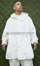 NEW US Military Snow Camouflage White Camo Winter PARKA Jacket Coat Large