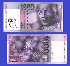 Slovakia 1000 Korun 2000. UNC - Reproductions
