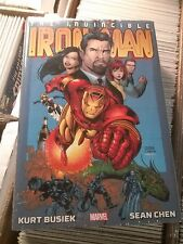 IRON MAN OMNIBUS HC  BY KURT BUSIEK & SEAN CHEN  Full Color!  FREE SHIPPING!