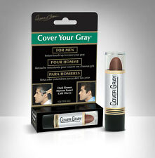 Irene Gari - Mens Cover Your Gray touch-up hair color stick   .15oz.  Dark Brown