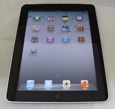 Apple iPad 1st Gen 32GB Wi-Fi + 3G (AT&T) 9.7in - Black - Fair Condition (8-2D)