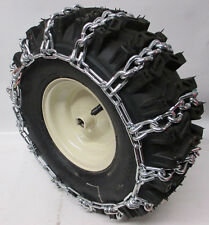 15 x 5.00 - 6 DEEP LUG TIRE CHAINS FOR SNOW BLOWER -PEERLESS CHAINS -CUSTOM MADE