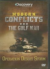OPERATION DESERT STORM THE GULF WAR DVD - MODERN CONFLICTS
