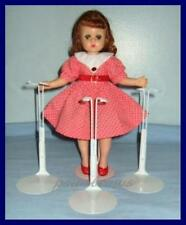 "3 Kaiser Doll Stands for 11"" 12"" Madame Alexander LISSY Marley Wentworth"