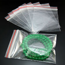 Free Wholesale Zip Locking Sealing Plastic Clear Bags Package Ziplock Multi size