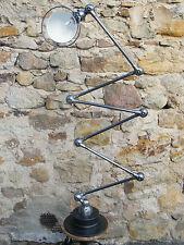 JIELDE Industrieleuchte, Lampe, 6 Gelenke, Original, Made in France