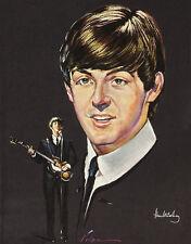 "The Beatles Paul McCartney Capitol Reproduction Promo 14 x 11"" Photo Print"