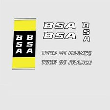 B.S.A. Tour de France Bicycle Decals, Transfers, Stickers n.02