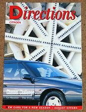 CITROEN direcciones revista número 10 (1995) - XM Estate, Zx Estate, Ax, ofertas especiales