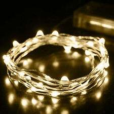 100Led 10m  String Fairy Light Battery Operated Xmas Lights Party Wedding