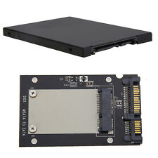 "Enclosure mSATA SSD to 2.5"" SATA Convertor Adapter Card SSD Case for Laptop Mac"