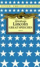 Great Speeches by Abraham Lincoln (Paperback, 1992)