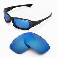 New Walleva Polarized Ice Blue Lenses For Oakley Fives 3.0