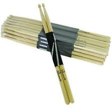 4 Paar DIMAVERY DDS-5A Drumsticks, Ahorn Maple Sticks Stick Drum Stöcke Trommel