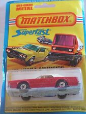MATCHBOX   LINCOLN CONTINENTAL 28 MIB NEUF BOITE SUPER FAST