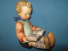 Hummelfigur 14 A (Junge) + 14 B (Mädchen) 2 Buchstützen - ältere Figur - 1. Wahl