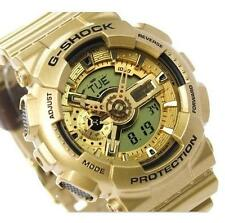 CASIO G-SHOCK, GA110GD-9A GA-110GD-9A, ALL GLOSSY GOLD, LIMITED COLOR VERSION