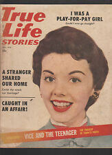 True Life Stories Fall 1955 I Was a Play for Pay Girl Caught in an Affair