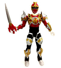 "12"" 1/6th NINJA STORM Crimson POWER RANGER Armoured Figure with weapons"