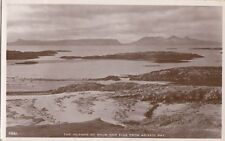 RHUM ( Scotland : The Islands of Rhum and Eigg from Arisaig Bay RP-WHITE