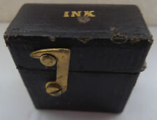 RARE ANTIQUE TRAVELLING INK WELL (O/S)