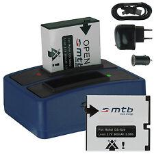 2x Baterìa DS-SD20 + Cargador doble para AEE SD18, SD19, SD21,SD22, SD23