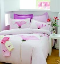 Aussino Mellow Pink 260TC 100% Cotton DOUBLE Size Quilt Doona Cover Set