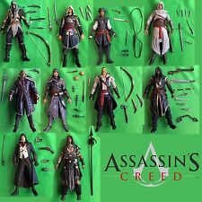 Assassin's Creed ALTAIR EZIO EDWARD HAYTHAM KENWAY McFarlane Toys Set Lot of 10