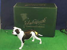 JohnBeswick Connoisseur Collection StaffordshireBullTerrier Piebald JBCOD4 P3085