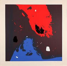 Edmondo BACCI - Avvenimento 11 S - Serigrafia originale firmata - 1976