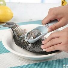 New Fish Scale Remover Scaler Scraper Cleaner Kitchen Tool Peeler   DICA