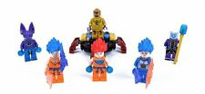 6 PCS Set Dragon Ball Z Lot Minifigures Freeze Virus Wish Son Blocks Bricks Toy