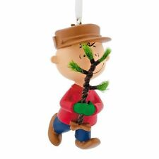 A Charlie Brown Christmas Ornament by Hallmark Charlie Brown with Tree