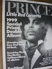 PRINCE - MAGAZINE CUTTING (FULL PAGE ADVERT) (REF TF3)