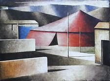 Marcello Scuffi Serigrafia polimaterica su tela Cm 60 x 80