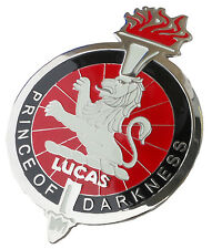 """Joseph Lucas """"Prince of darkness"""" car grille badge"""