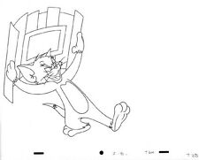 WARNER BROS Animation Art Cel Production Drawing Tom & Jerry CAT #47