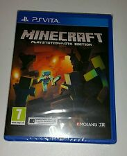 MINECRAFT  PS Vita New Sealed UK PAL mind craft Sony PlayStation PSV mindcraft