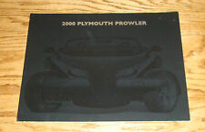 Original 2000 Plymouth Prowler Foldout Sales Brochure 00