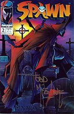 TODD McFARLANE Signed Autographed Spawn Issue #2, Comic Book
