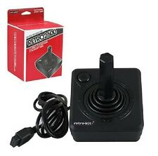 NEW RETRO-BIT BLACK BUTTON CLASSIC JOYSTICK FOR ATARI 2600 & FLASHBACK SYSTEMS