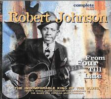 Cd best of LONNIE JOHNSON from four 4 tilll late 1930s blues