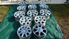 LOT OF 13 GENERAL MOTORS CADILLAC FACTORY ALLOY & CHROME RIMS 16' & 18' LO$$$$$$